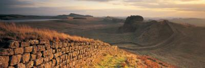 Hadrians Wall, Northumberland,, UK