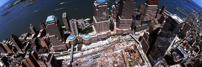 Aerial View of Former World Trade Center Site, New York City, New York State, USA