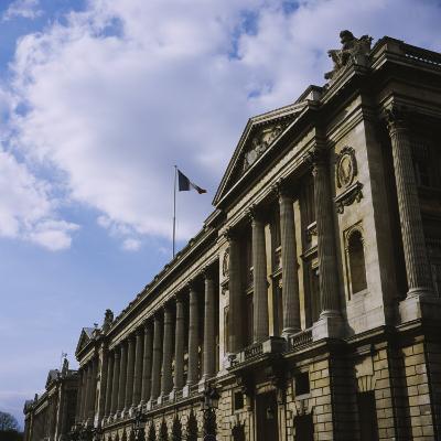 Low Angle View of a Government Building, Place De La Concorde, Paris, France