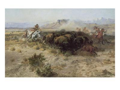 Buffalo Hunt Number 26, 1899