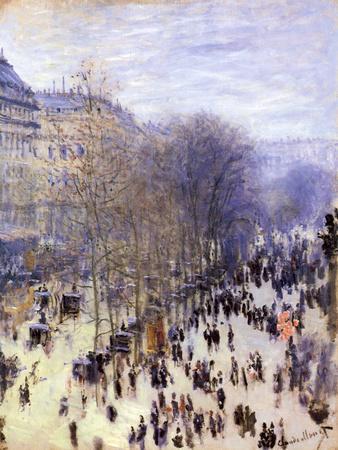 Boulevard Des Capucines, 1873