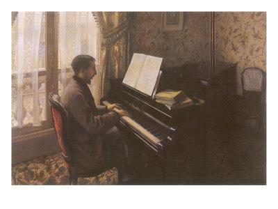 Man Playing Piano, 1876