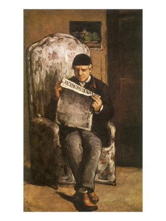 The Artist's Father, 1866