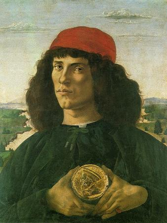 Portrait of a Young Man with a Medal, 1475