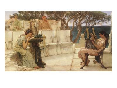Sappho and Alcaeus, 1880