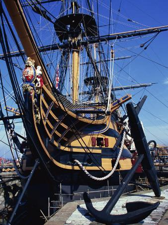 Hms Victory, Portsmouth Dockyard, Portsmouth, Hampshire, England, United Kingdom, Europe