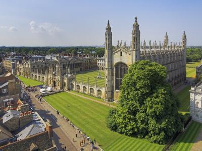 Kings College and Chapel, Cambridge, Cambridgeshire, England, United Kingdom, Europe