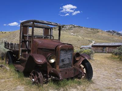 Old Truck, Bannack State Park Ghost Town, Dillon, Montana, United States of America, North America