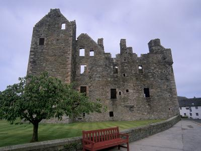 Maclellan's Castle, Kirkcudbright, Dumfries and Galloway, Scotland, United Kingdom, Europe
