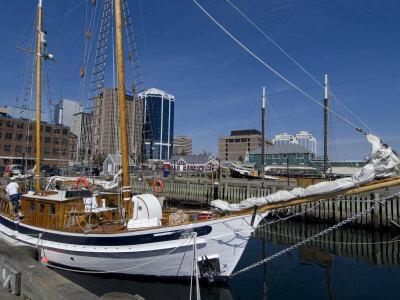 Harbour Walk, Halifax, Nova Scotia, Canada, North America