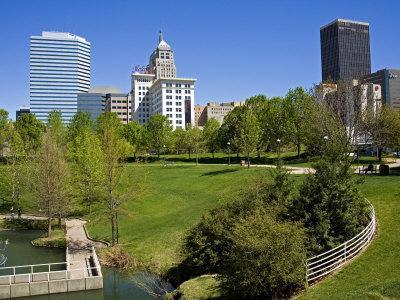 Myriad Botanical Gardens, Oklahoma City, Oklahoma, United States of America, North America