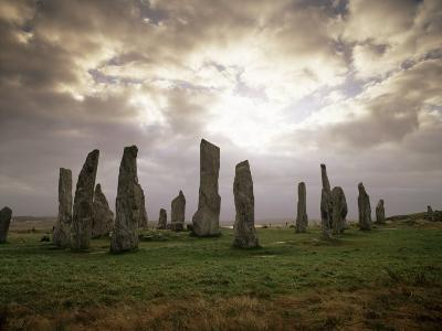 Stone Circle from Between 3000 and 1500Bc, Callanish, Isle of Lewis, Outer Hebrides, Scotland