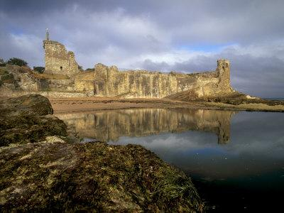 St. Andrews Castle, Palace of the Bishops of St. Andrews, St. Andrews, Fife, Scotland, UK