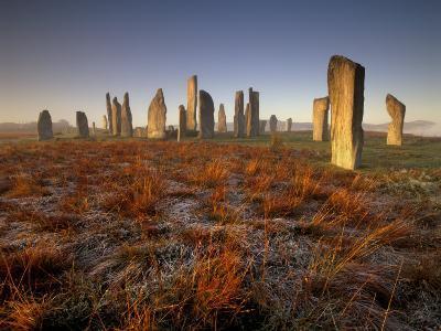 Callanish Stone Circle at Dawn, Isle of Lewis, Outer Hebrides, Scotland, UK