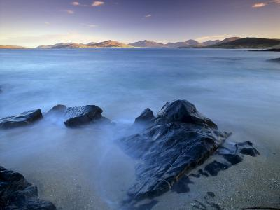 Rock and Sea, Sound of Taransay, South Harris, Outer Hebrides, Scotland, United Kingdom, Europe