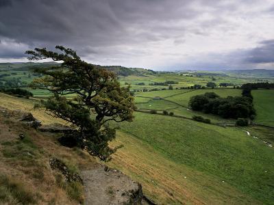 Landscape Near Austwick, Yorkshire Dales National Park, Yorkshire, England, United Kingdom, Europe
