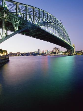Sydney Harbour Bridge, Circular Quay Pier, Sydney, New South Wales, Australia, Pacific