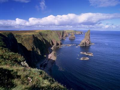 Duncansby Head Sea Stacks, North-East Tip of Scotland, Caithness, Highland Region, Scotland, UK