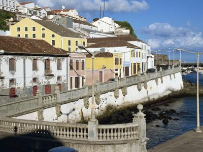 Bay Promenade, Angra Do Heroismo, Terceira, Azores, Portugal, Atlantic, Europe