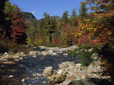 Swift River, Kangamagus Highway, White Mountains National Forest, New Hampshire, USA