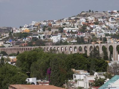 Aqueduct Built in the 1720S and 1730S, Santiago De Queretaro, Queretaro State, Mexico