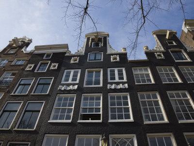 Gabled Houses, Amsterdam, Netherlands, Europe