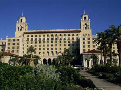 Exterior of the Breakers Hotel, Palm Beach, Florida, United States of America, North America