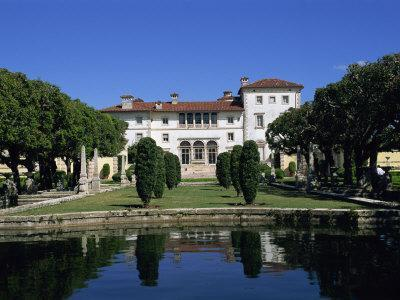 Exterior of the Villa Vizcaya, Miami, Florida, United States of America, North America