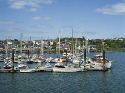 Kinsale Harbour, County Cork, Munster, Republic of Ireland, Europe