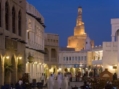 Restored Souq Waqif, Doha, Qatar, Middle East
