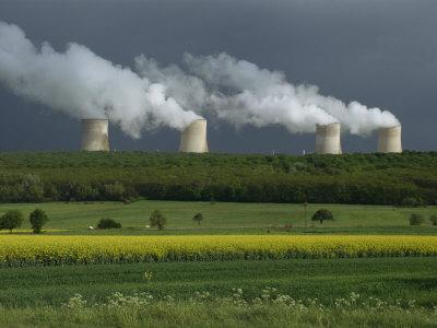 Central Nuclear Power Plant, Champagne Region, France, Europe