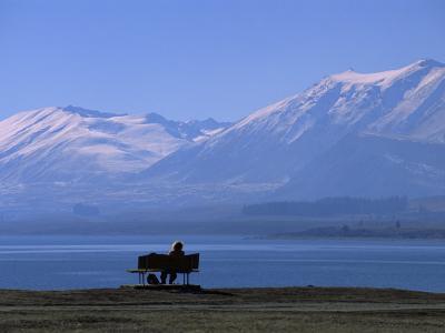 Lake Tekapo, Mackenzie Basin, South Island, New Zealand, Pacific