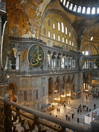 Haghia Sophia, UNESCO World Heritage Site, Istanbul, Turkey, Europe