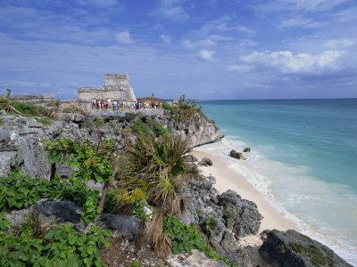 Mayan Ruins of Tulum, Yucatan Peninsula, Mexico, North America