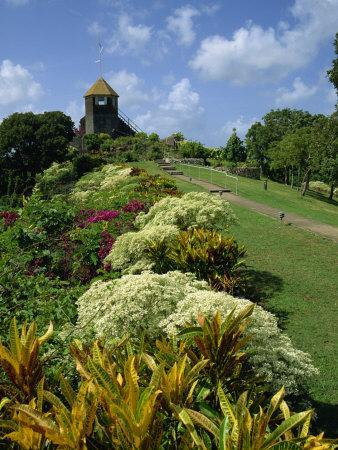 Gun Hill Signal Station, Barbados, West Indies, Caribbean, Central America