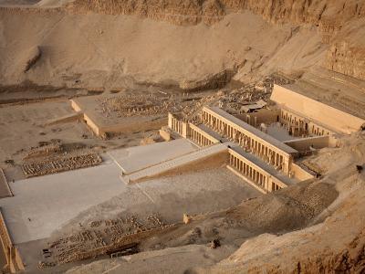 Deir Al Bahri, Funerary Temple of Hatshepsut, Thebes, UNESCO World Heritage Site, Egypt