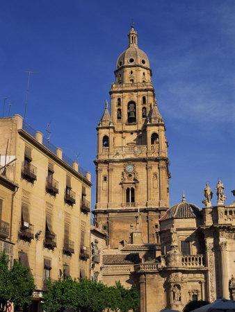 Murcia Cathedral, Murcia, Spain, Europe