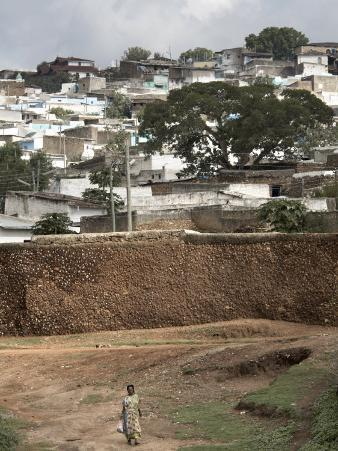 Outer Wall of the Ancient City of Harar, Ethiopia, Africa