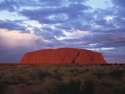 Uluru, Uluru-Kata Tjuta National Park, Northern Territory, Australia, Pacific