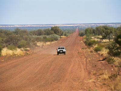 Mereenie Loop, the Road from Kings Canyon to Alice Springs, Northern Territory, Australia