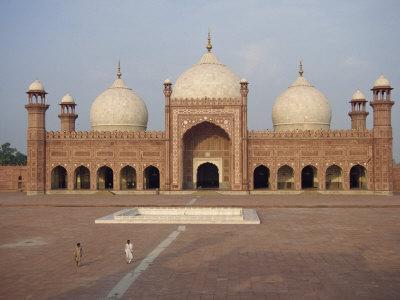 Badshahi Mosque in Lahore, Punjab, Pakistan