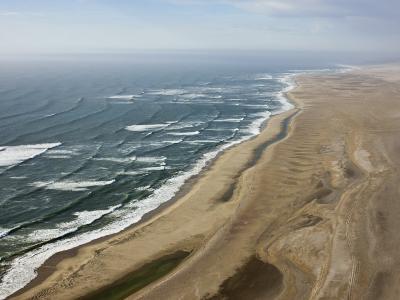 Aerial Photo of the Skeleton Coast, Namibia, Africa