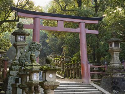 Entrance, Kasuga-Taisha Shrine, Nara, Kansai, Honshu, Japan