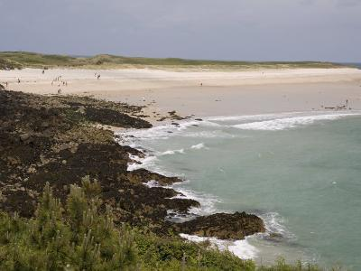 Shell Beach, Herm, Channel Islands, United Kingdom, Europe