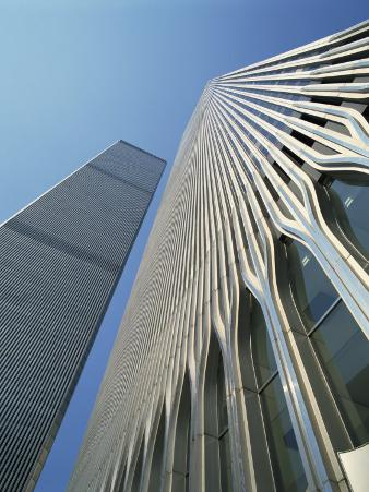 World Trade Center's Twin Towers, Prior to 11 September 2001, Manhattan, New York City, USA