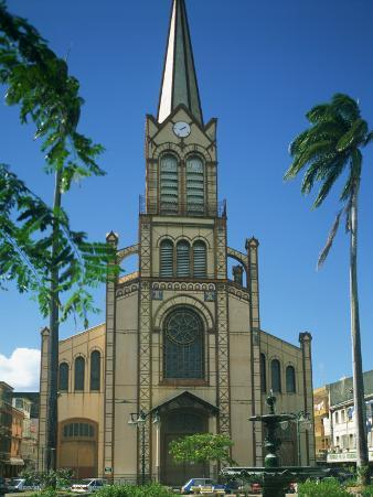 Cathedral at Fort De France, Martinique, Lesser Antilles, West Indies, Caribbean, Central America