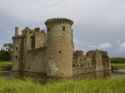 Caerlaverock Castle, Near Dumfries,Dumfries and Galloway, Scotland, United Kingdom, Europe