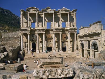 Celsus Library, Ephesus, Anatolia, Turkey Minor