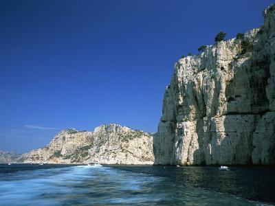 Cliffs of the Calanques, Near Cassis, Bouches-Du-Rhone, Cote D'Azur, Provence, France