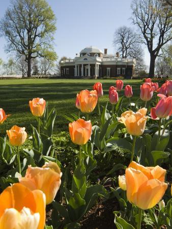Thomas Jefferson's Monticello, UNESCO World Heritage Site, Virginia, USA